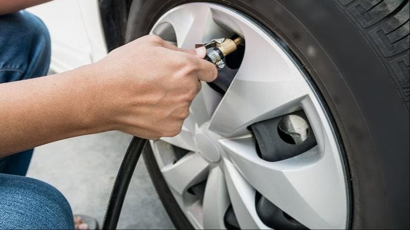 Properly inflate your tires